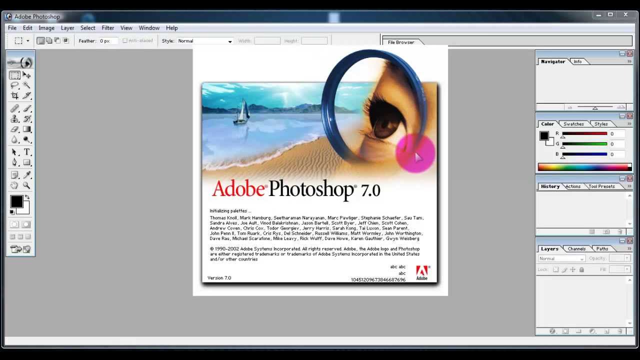 Adobe Photoshop 7 Download Softwares For Free